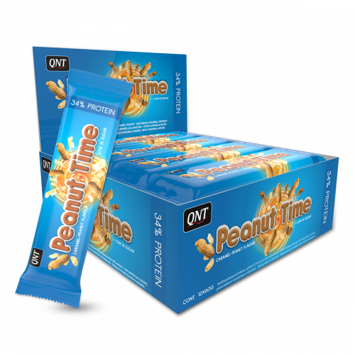 Peanut Time Barres 12 x 60 g